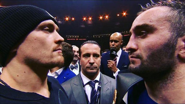 Oleksandr Usyk and Murat Gassiev to contest vacant RING 200-pound title