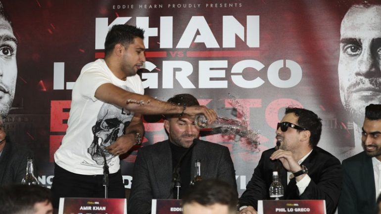 Amir Khan: 'Phil Lo Greco got personal and he's going to pay'