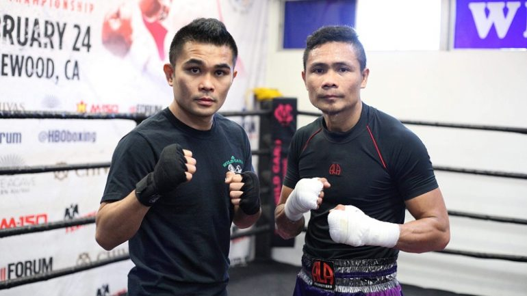 Brian Viloria and Donnie Nietes put egos aside to help each other in sparring