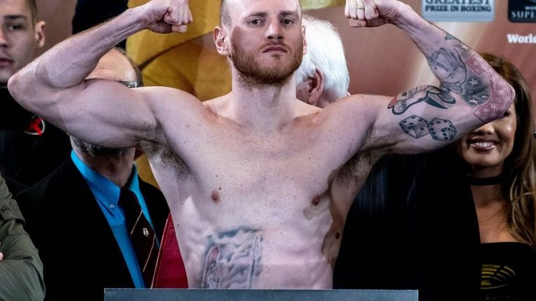 BREAKING: George Groves medically cleared, will meet Callum Smith in World Boxing Super Series final
