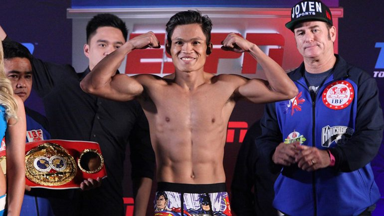 Jerwin Ancajas honored by the IBF in Malaysia, targets September return