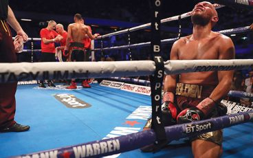 Caleb Truax's upset of James DeGale surprised everyone but him