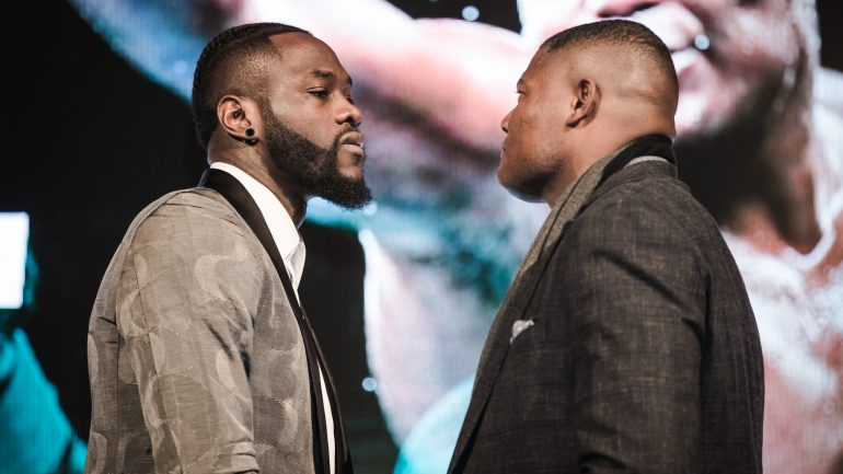 Luis Ortiz claims Deontay Wilder's tactics are 'borderline criminal'