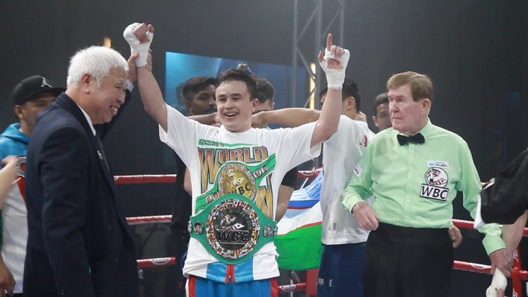 Qudratillo Abdukakhorov reviews welterweight weekend, looks forward to Shawn Porter clash