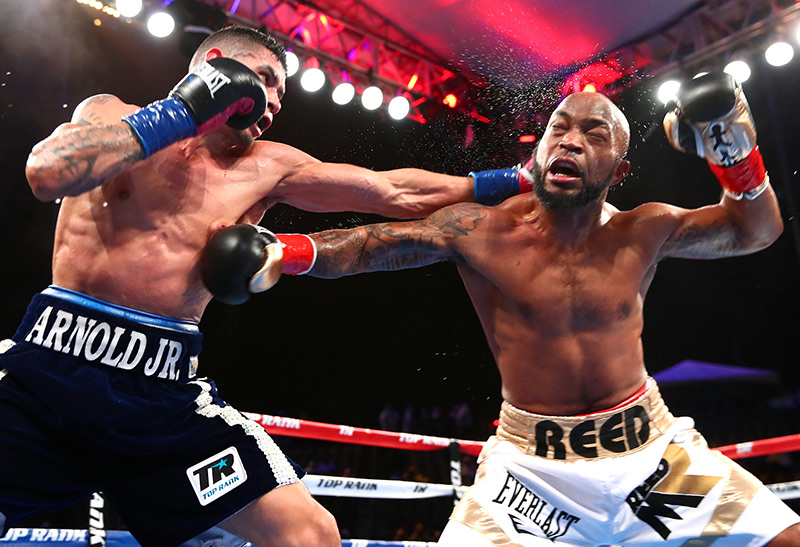 Barboza Reed action Mikey Williams - The Ring Magazine Ratings Reviewed: Junior Welterweight