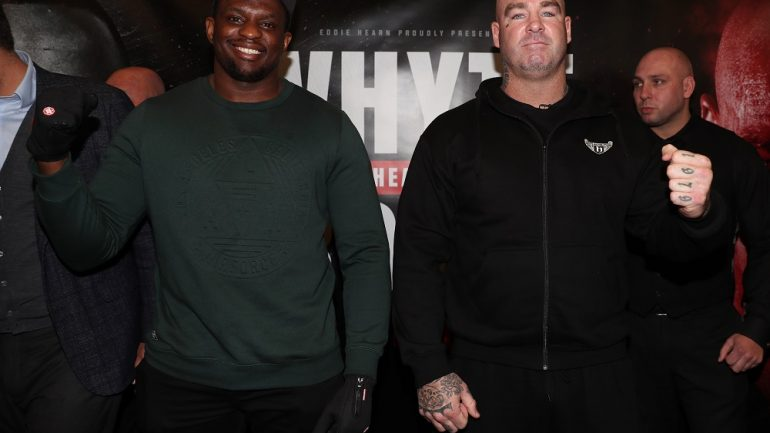 Dillian Whyte-Lucas Browne heavyweight clash picked up by HBO