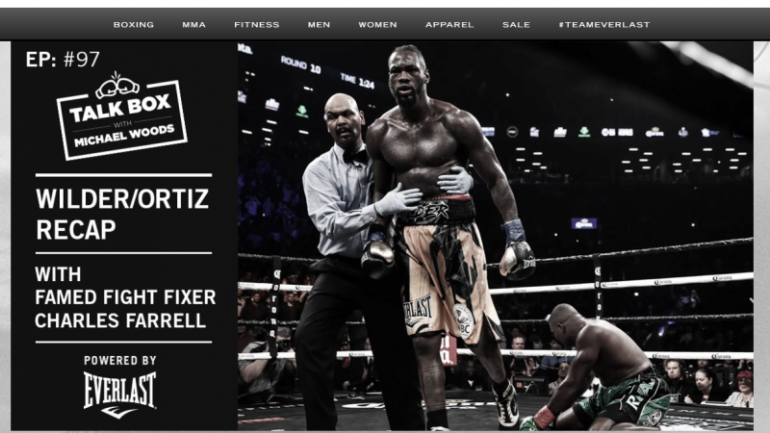 Former fight fixer Charles Farrell admits he was wrong about Wilder-Ortiz
