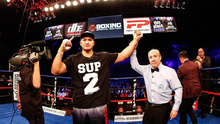 With a heavy heart, Junior Fa faces Devin Vargas on Friday