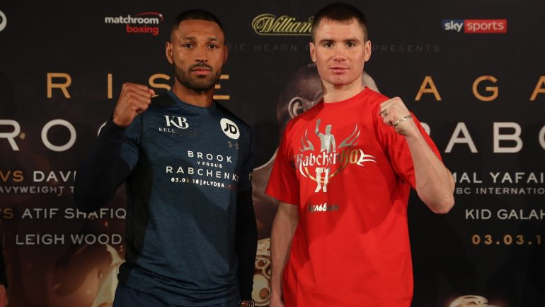 Kell Brook: 'Sergey Rabchenko is a dangerous guy and he can really bang'