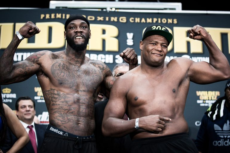 48b18f160ba1 Deontay Wilder out to silence the doubters in heavyweight title defense vs. Luis  Ortiz