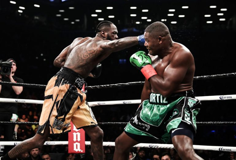 6cdd8436eb6f Deontay Wilder survives mid-fight scare, knocks out Luis Ortiz in 10 ...