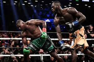 Wilder right to Ortiz Westcott 300x200 - Dougie's Monday mailbag (Terence Crawford criticism, 'overrated' heavyweights)