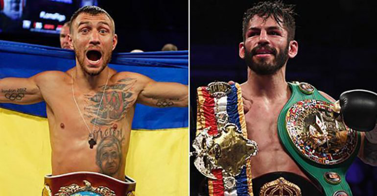 Jorge Linares Vasyl Lomachenko Ring Lightweight Title Bout Signed For May
