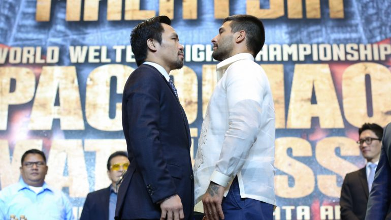 Manny Pacquiao wants to prove his time isn't up yet against Lucas Matthysse
