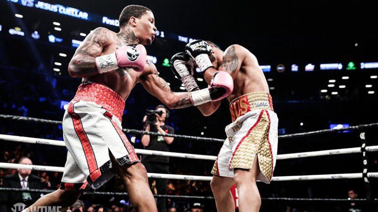 Gervonta Davis tears Jesus Cuellar apart, scores three knockdowns for TKO win