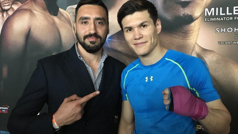 Kazakhstan's Olympic hero Daniyar Yeleussinov makes U.K. Debut