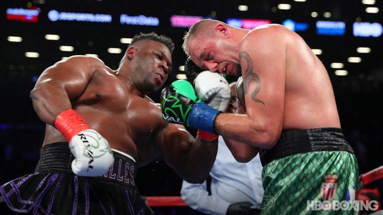 Jarrell Miller outguns game Duhaupas in audition bout for Anthony Joshua
