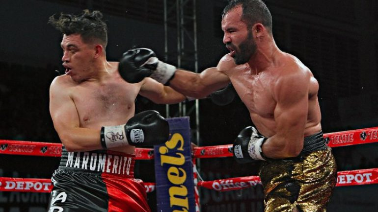 Ramon Alvarez outpoints Jorge Paez Jr. over 10 rounds