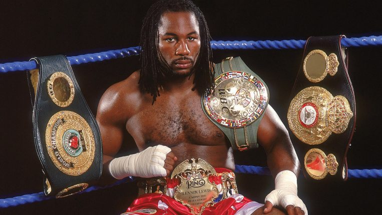 Ringside Our guest editor's view from the mountaintop By Lennox Lewis