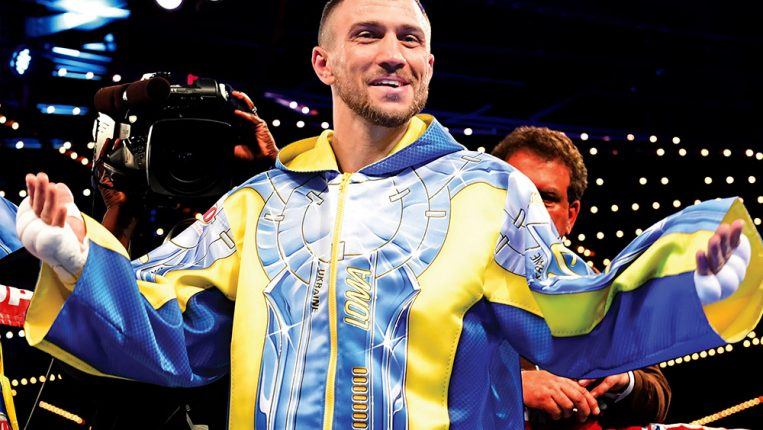 Legacy in Progress Lomachenko is after more than just shiny belts