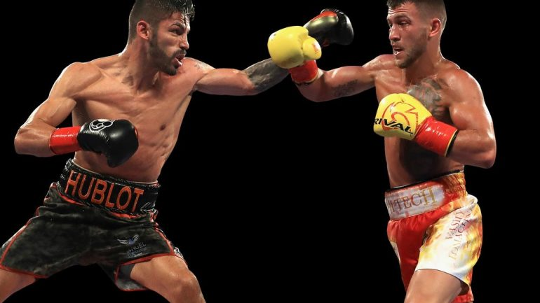 Jorge Linares-Vasyl Lomachenko to be featured on RING Magazine cover