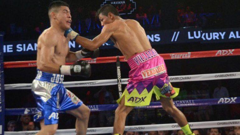 Lightweight Marcos Villasana Jr. stops Jose Felix in nine
