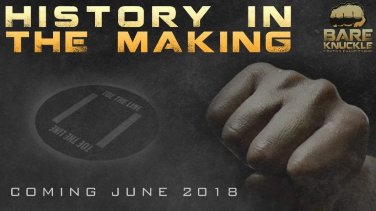 Bare Knuckle Fighting Championship debuts on June 2