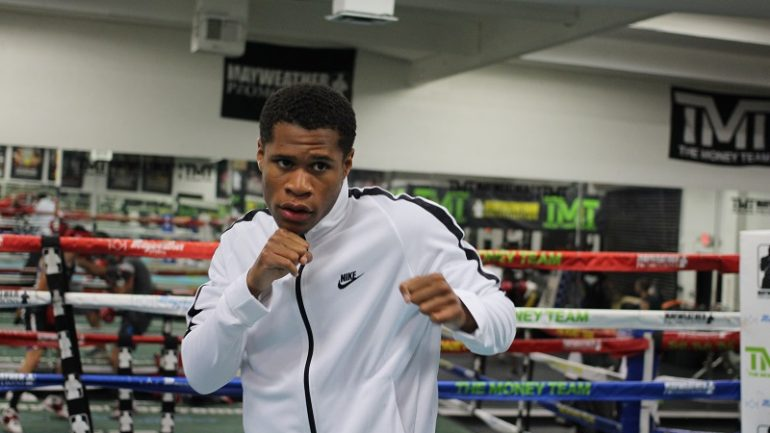 Devin Haney: 'In 2019, I want to become world champion'