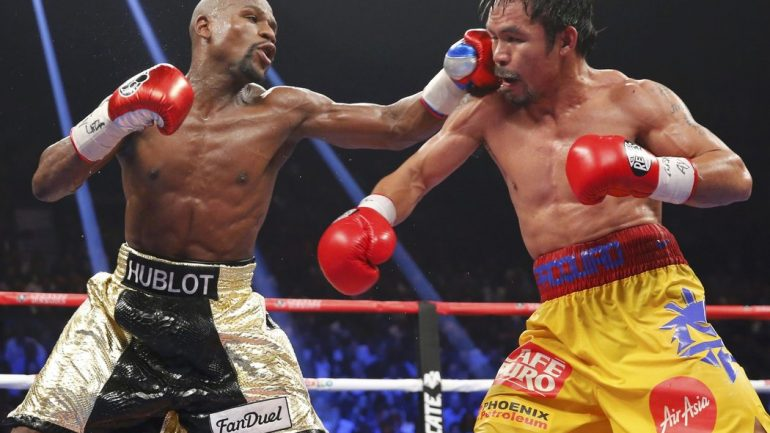 Floyd Mayweather to face Manny Pacquiao…on the basketball court