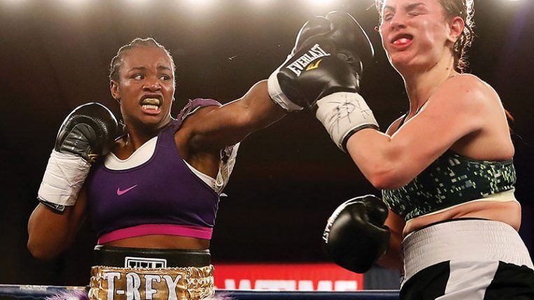 Come and Get It All Claressa Shields needs now is a willing opponent By Thomas Gerbasi