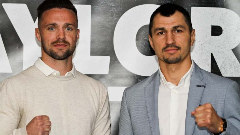 Josh Taylor: 'I can take Viktor Postol out with my speed and timing'