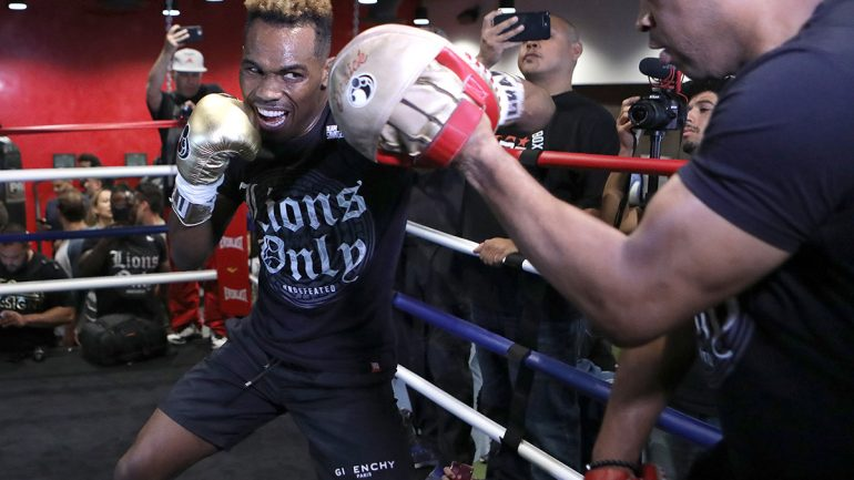 Photo gallery: Jermell Charlo Los Angeles workout