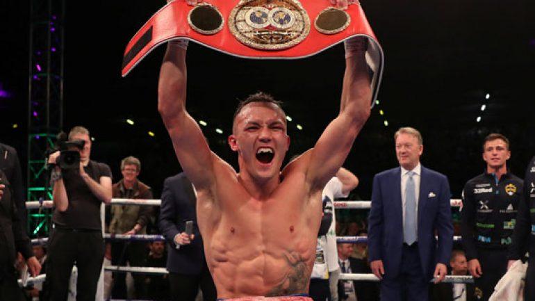 Josh Warrington to defend IBF 126-pound title against Kid Galahad on June 15 in Leeds