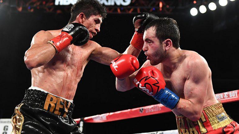 Rey Vargas outpoints aggressive Azat Hovhannisyan in spirited brawl