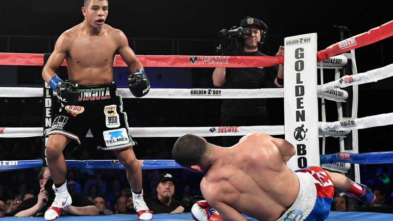 Jaime Munguia puts ferocious beating on Sadam Ali, stops him in four