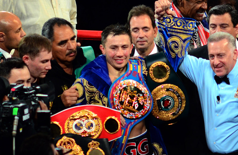 golovkin martirosyan bygerman28 - Gennady Golovkin gets down to business with DAZN, 'Sometimes people with belts are not the best boxers'