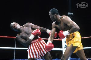 leonard hearns GettyImages 161748646 copy 300x198 - Dougie's Monday Mailbag (Terence Crawford, Franco-Moloney controversy)