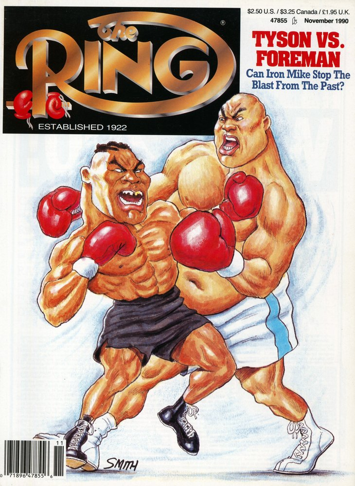 rsz gettyimages 159922789 - From The Archive: Can 'Iron' Mike Tyson stop the blast from the past – George Foreman?