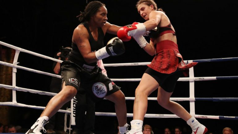 Christina Hammer first German to defend world title in U.S since Max Schmeling