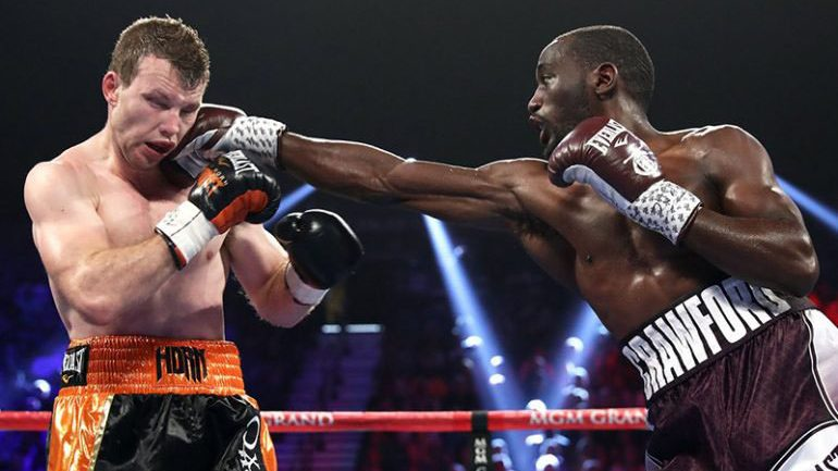 Terence Crawford dishes out severe beating, stops Jeff Horn in 9