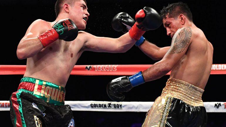 Diego De La Hoya stops Jose Salgado in seven rounds