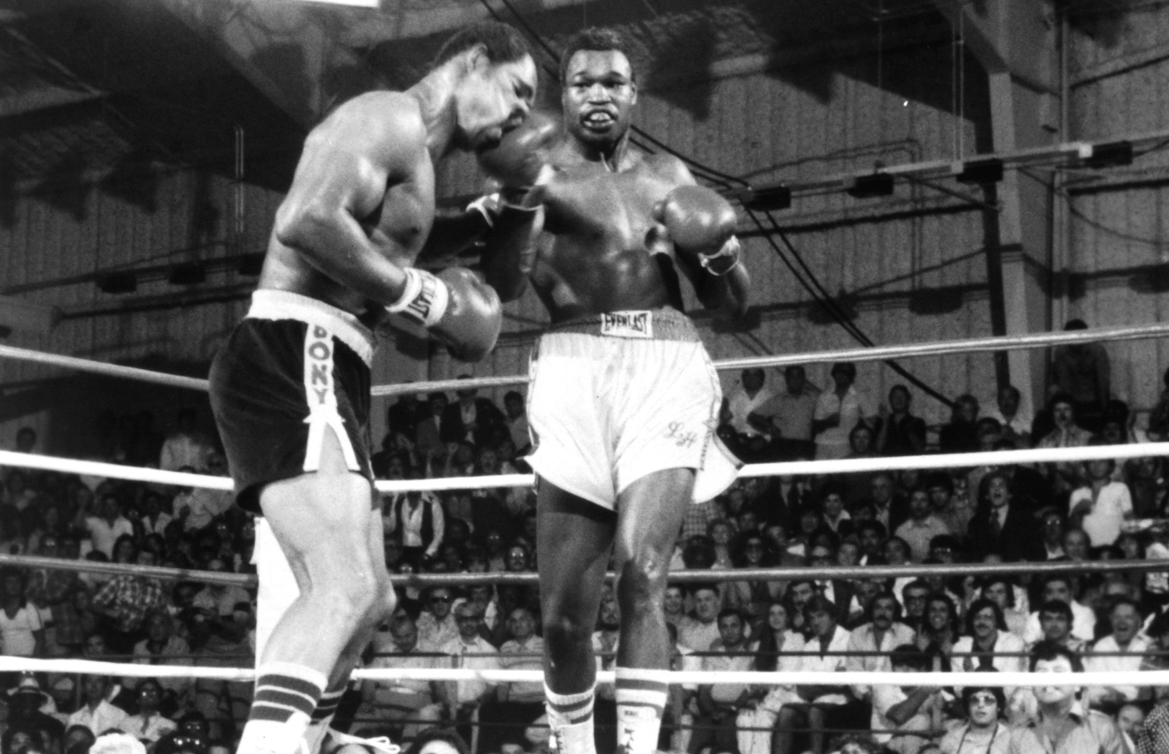 Image result for Larry Holmes vs Ken norton