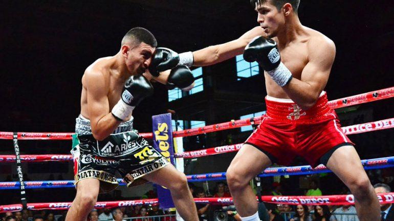 Jose Zepeda stops Carlos Diaz in fifth round