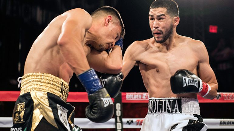 Javier Molina: We have an answer for whatever Jose Pedraza wants to do in the ring