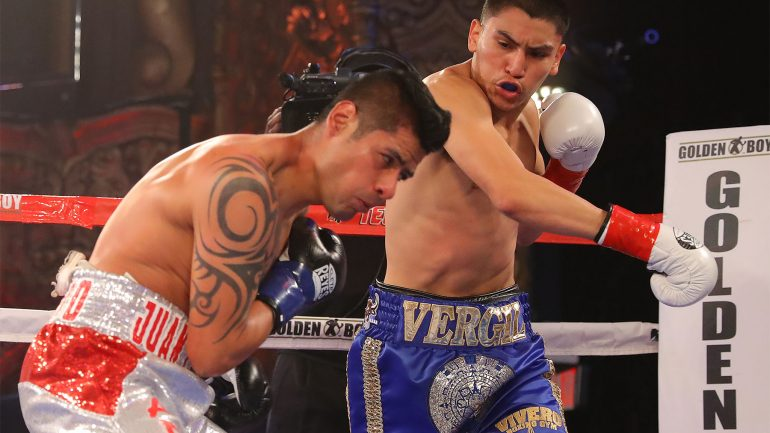 Vergil Ortiz Jr. finely tuned going into Canelo-Fielding undercard
