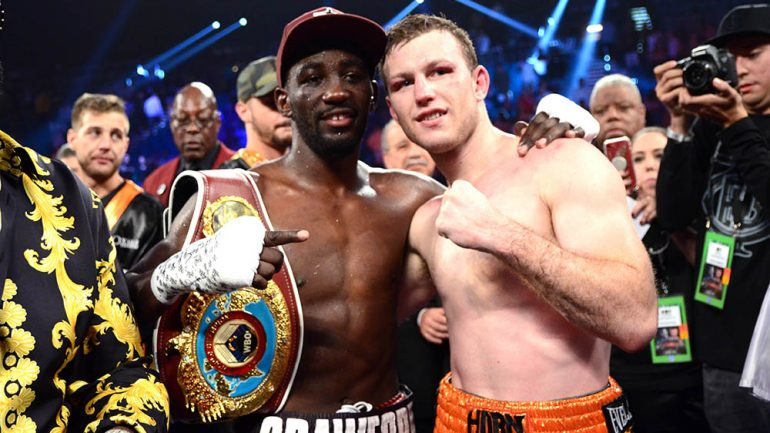 Dougie's Monday mailbag (Terence Crawford-Jeff Horn, 'Bud love,' 'Hornet hate')