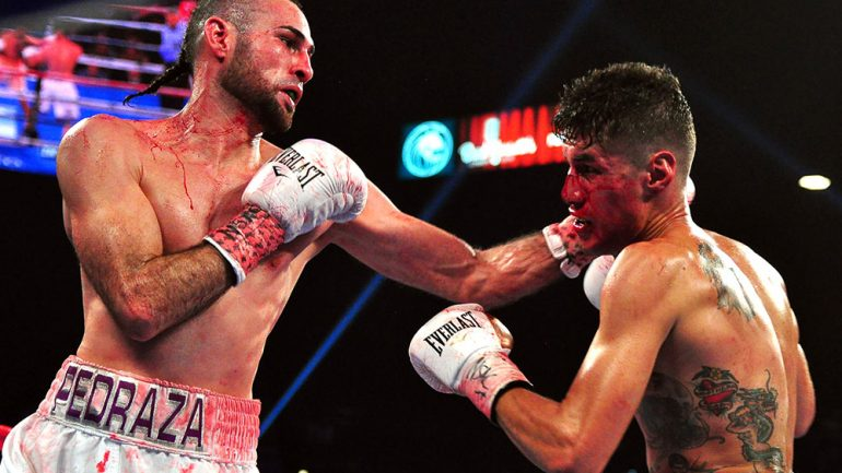 Pedraza, Benavidez and Shakur impress on Crawford-Horn undercard