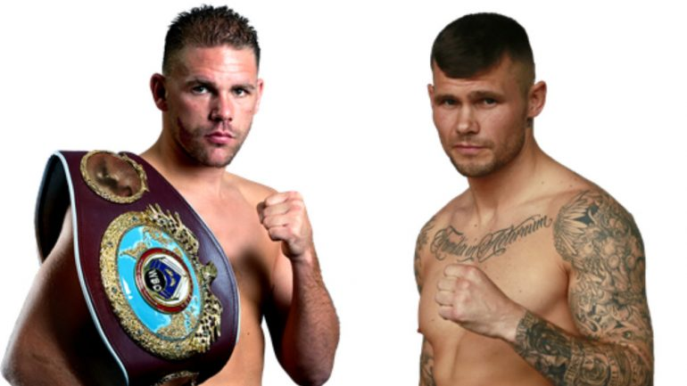 Billy Joe Saunders-Martin Murray set for December 4 in London
