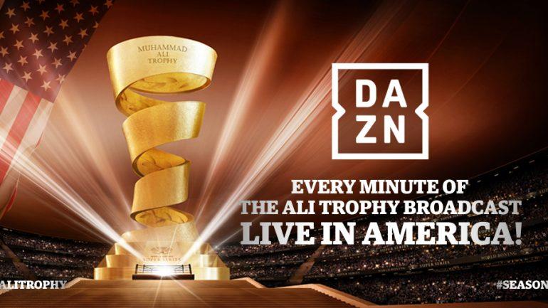 Press Release – DAZN will broadcast every minute of WBSS across America