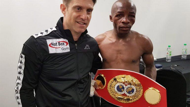 Moruti Mthalane and team savor title-winning victory, look toward unification